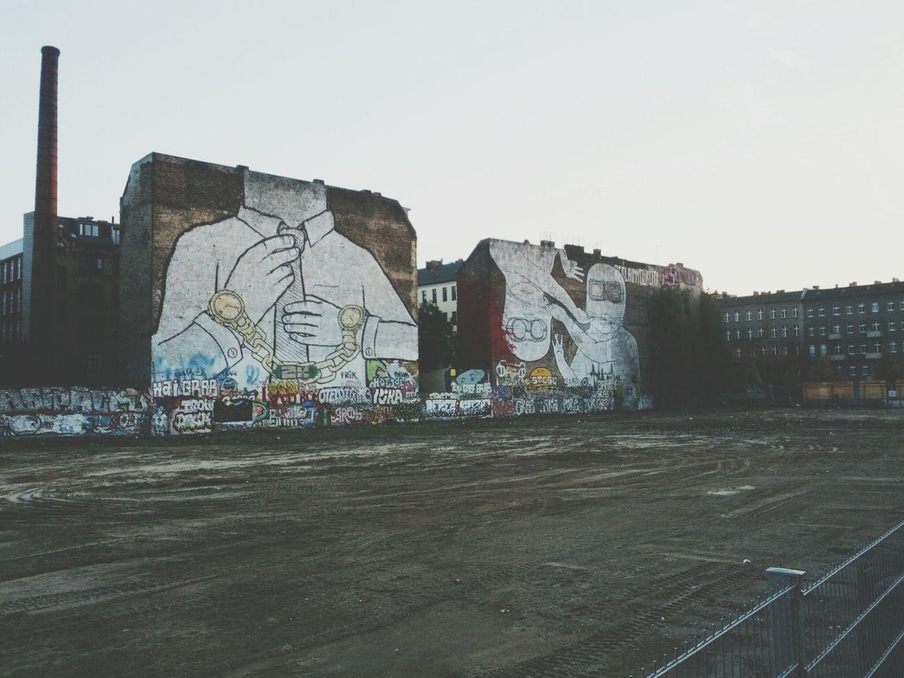 The cuvry-brache has been cleared out. Streetart Berlin Streetart Berlin Kreuzberg
