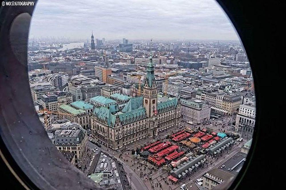 Hamburg Rathaus von Oben :) DSLR Nikon Nikon_photography_ Vogelperspektive Birdview City Hh Germany