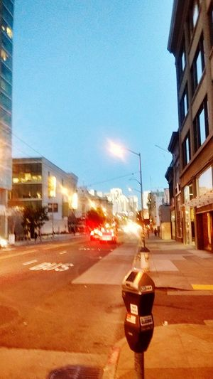 The city around sunset... Loving Life! ! ! Loving Life! Going Downtown In The Middle Of