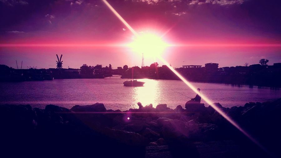 Costinesti Sea Sun Romania Samsung Obelisk Mareaneagra Red Landscape Flickr Photography