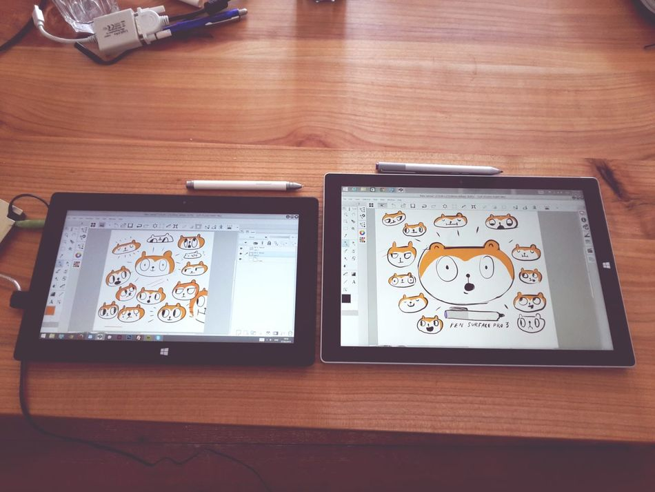 SurfacePro vs SurfacePro3 for Drawing ... review coming soon!