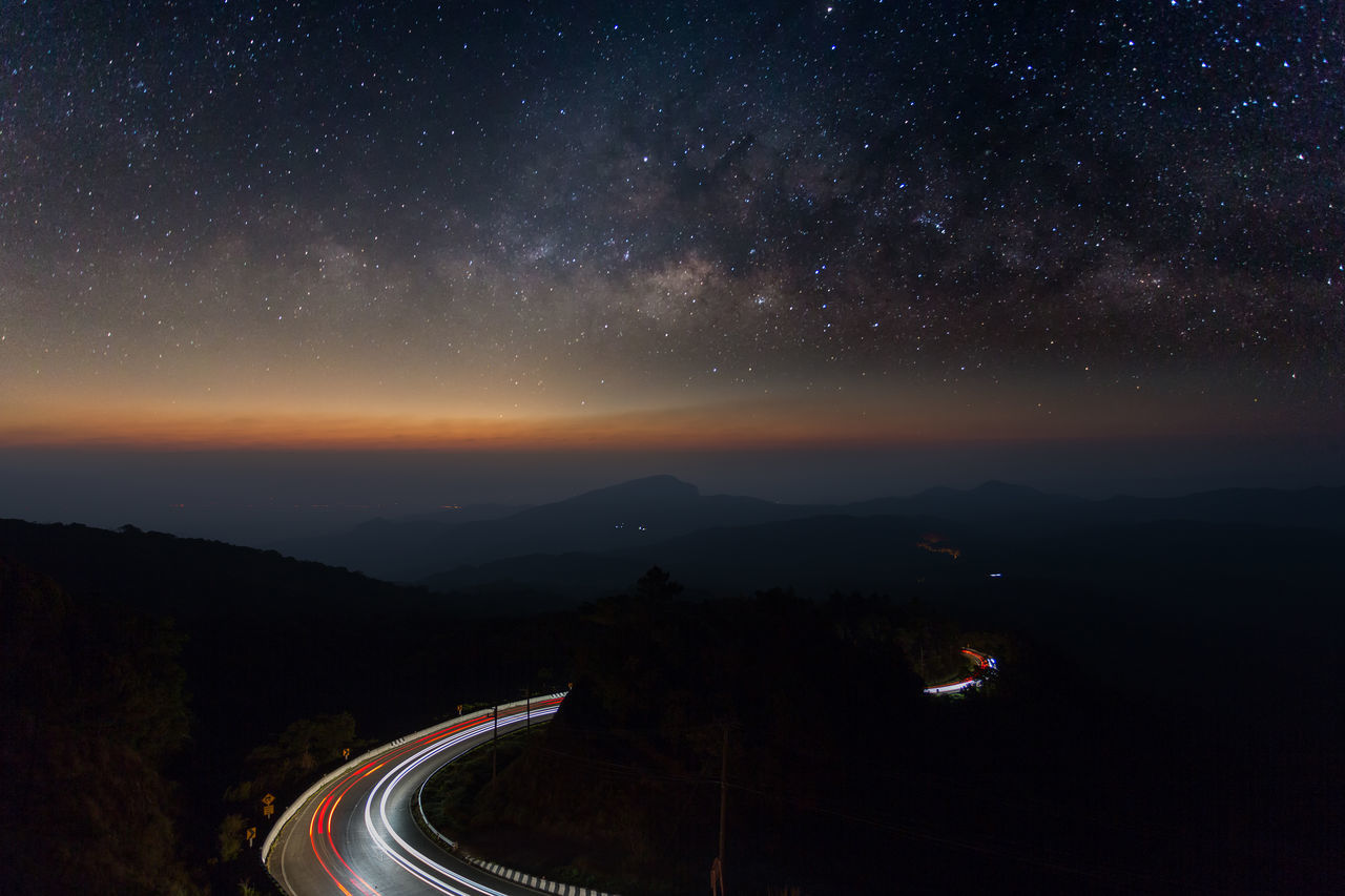 Beautiful stock photos of galaxy,  Astronomy,  Chiang Mai,  Galaxy,  Horizontal Image