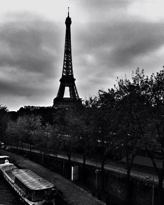blackandwhite in Paris by Stacy