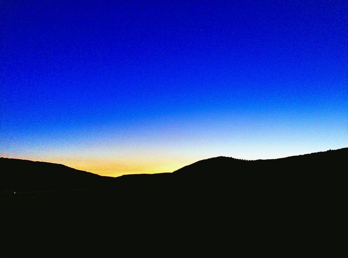 Recuerdos Vacaciones Carabana Cielo Azul Puesta De Sol :')