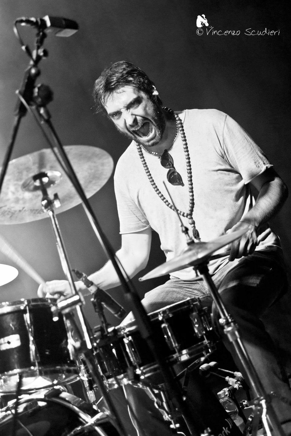 Francesco Caprara Music Brings Us Togheter Vincenzo Scudieri Concertphotography Concert Concert Photography Musical Instrument Blues Black & White Dtums Lifestyles Enjoy Life Funky Music Photography  Rosalino Cellamare