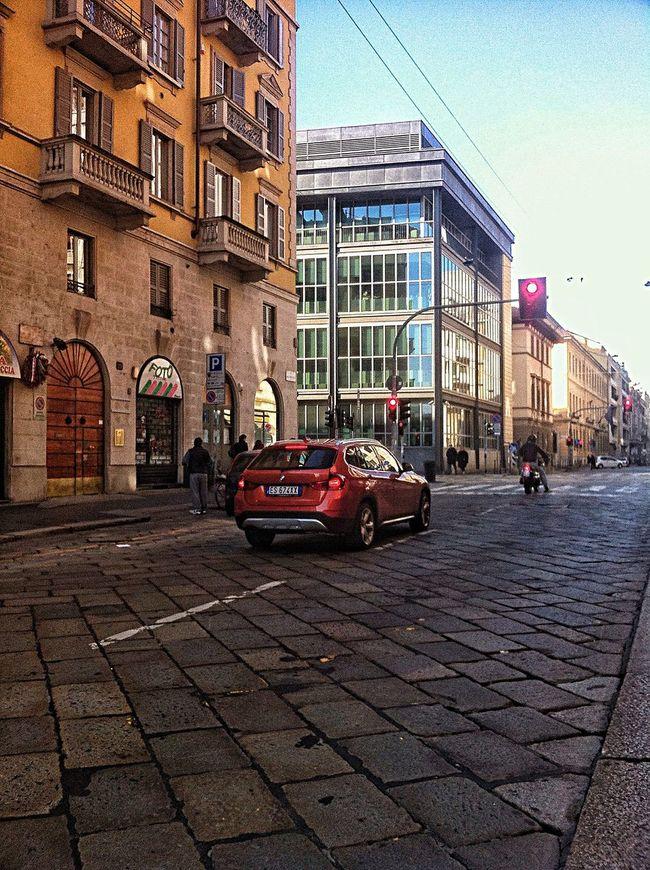 Milano Moscova Street Tadaa Community Tadaa Friends Italiano Style Vanishing Point