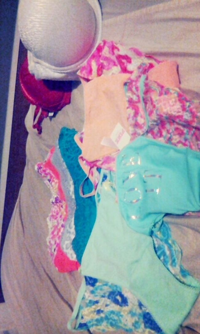 Successful day of shopping! Victorias Secret Pink Great Lakes Crossings