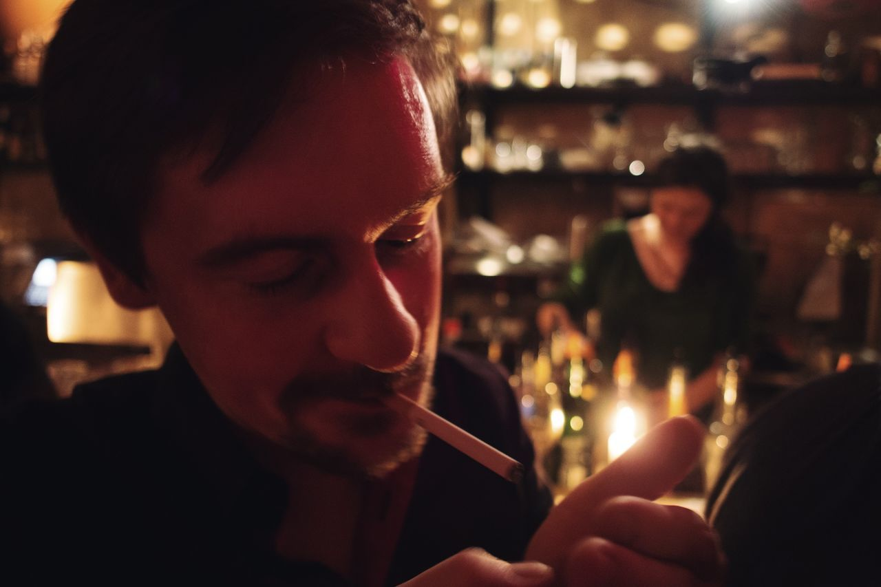 Beautiful stock photos of bar, Bar, Berlin, Cigarette, Focus On Foreground