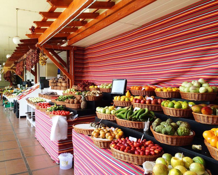 Market Market Stall Funchal Funchal Madeira