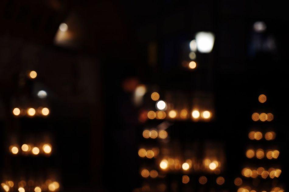 Illuminated Night Dark No People Close-up Indoors  Flame Tea Light