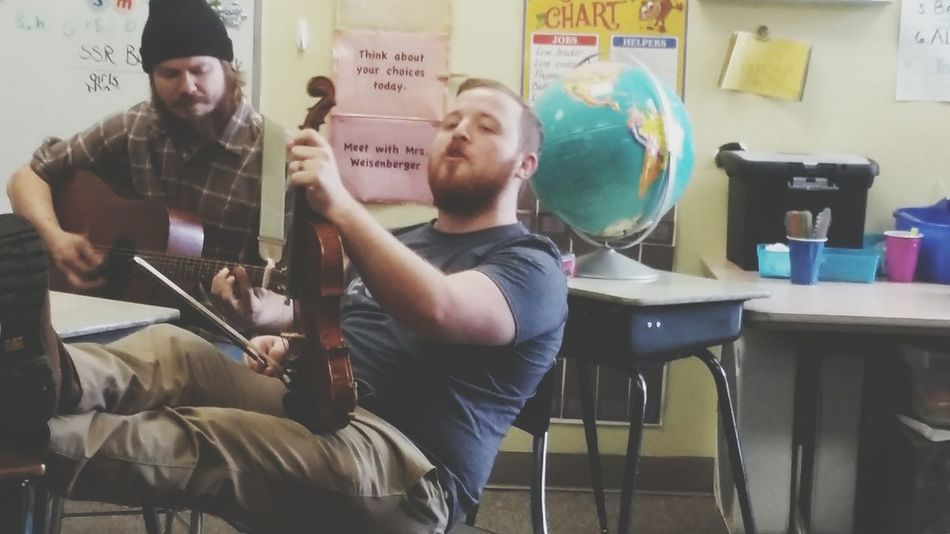 Bluegrass Hanging Out Tinydeskaudition