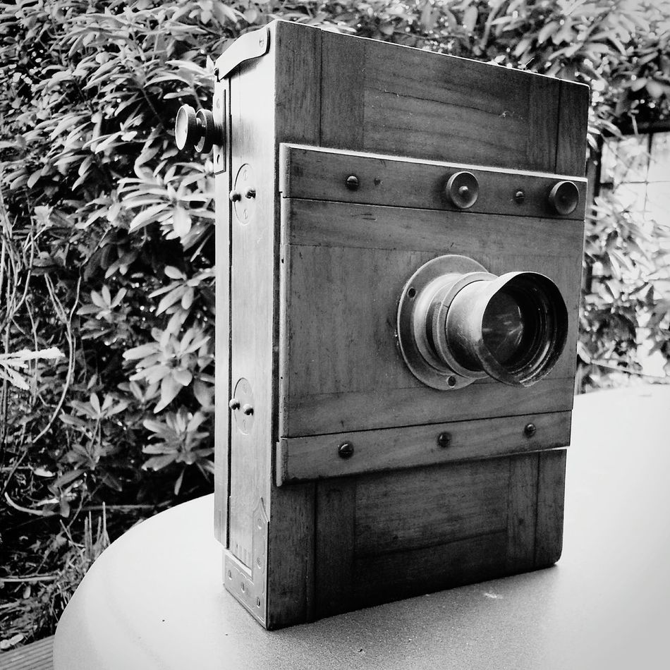 Camera of my grandfather Camera Antique Blackandwhite Photography Photography Hello World Antiquitäten Holz Wood Camera - Photographic Equipment Camera+ Wooden Vintage Vintage Camera