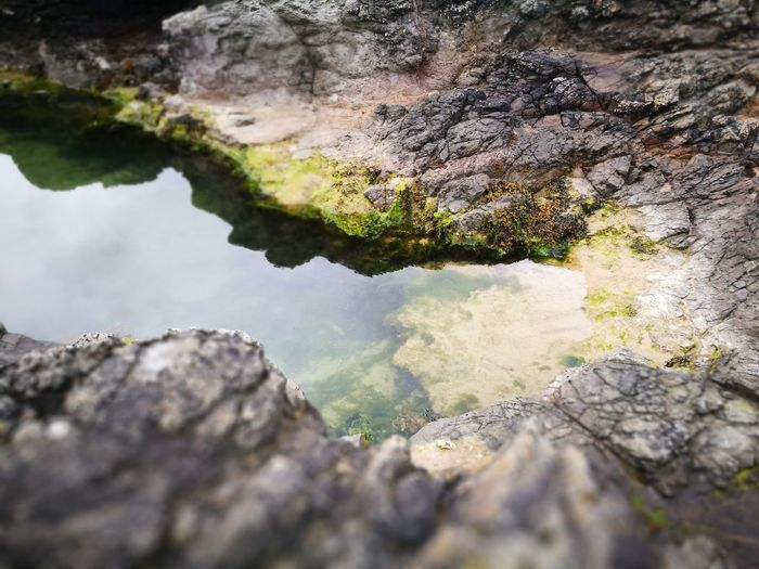 No People Water Nature Day Outdoors Beauty In Nature Close-up Rock Pool Rock Pools Rock Pooling Reflection Dunseverick Northern Ireland