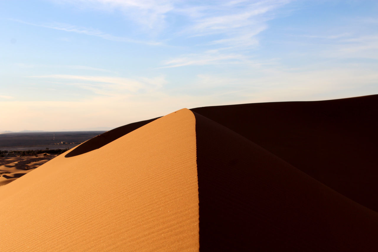 Contrast Curves Desert Discovering Distant Edge Of The World Escape Forms Nature Peak Priceless Sand Dune Shapes Simplicity Two Sides