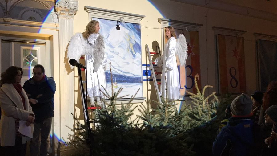 Germany Photo Winter Weihnachtsmarkt Engel Advendskalender Uelzen