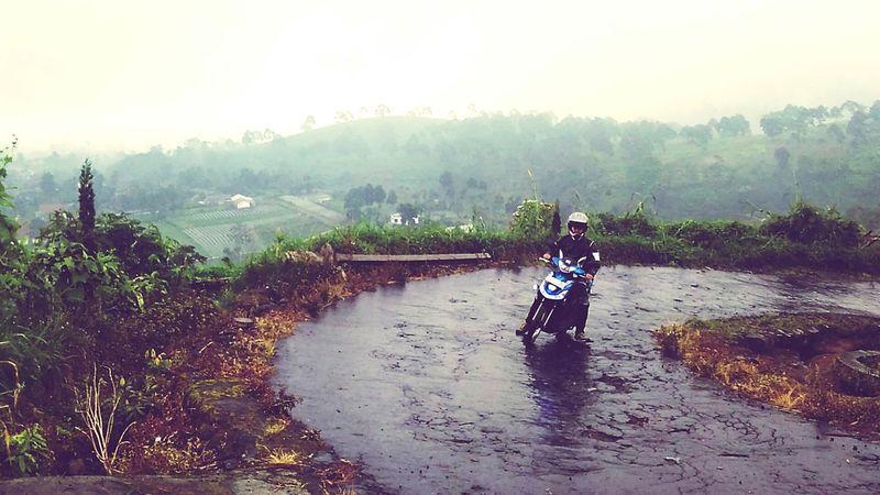 """Road to Segara Gunung"" - Segara Gunung is a tourism destination in Tawangmangu, Karanganyar, Central Java. From there, we can have a vast view over Karanganyar regency. Java Indonesia Scenery Central Java Tourism Hill Rural Village"