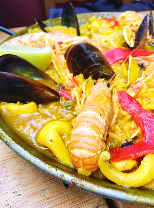 Food Food Porn Foodphotography Paellas SPAIN Spanish Food Enjoying A Meal Eating Out Dinner Time What's For Dinner?