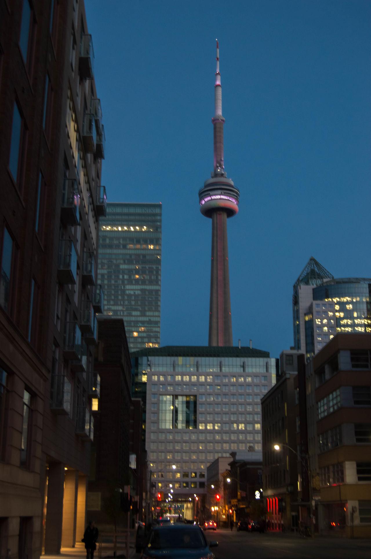CN Tower, Toronto Architecture Building Exterior Built Structure Canada City CN Tower CN Tower - Toronto Modern Skyscraper Toronto Travel Destinations
