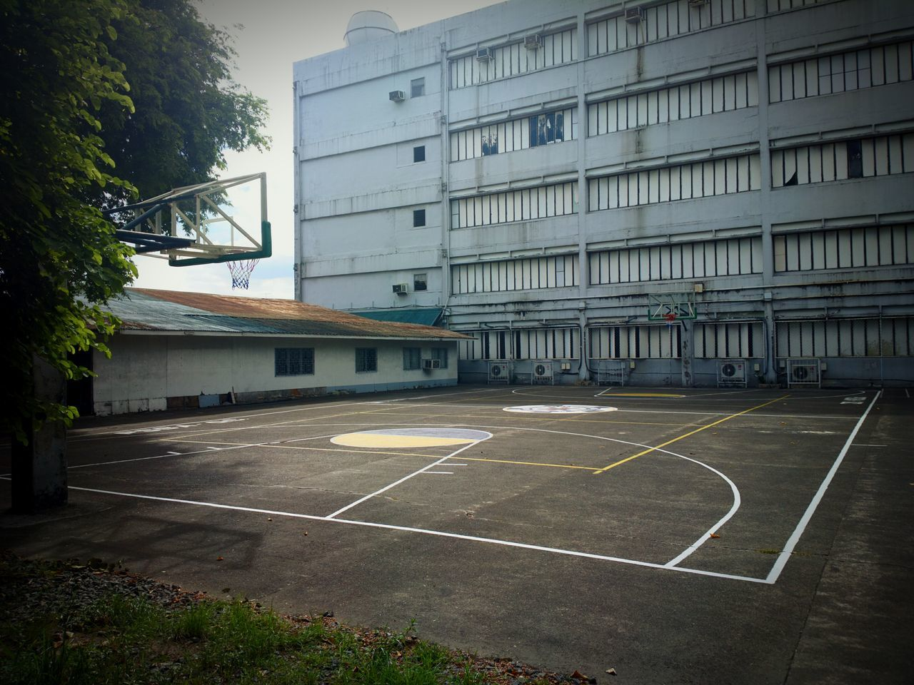 Built Structure Architecture Building Exterior Outdoors City No People Day Military EyeEmNewHere Nokia 808 Pureview  Nokiaphography Basketball Life Basketball Court Psba Qc