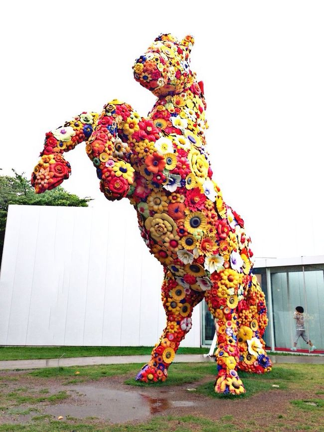 Tohoku Unique Sculpture Discover Your City Traveling Streetphotography Check This Out Tadaa Community Art Colorful