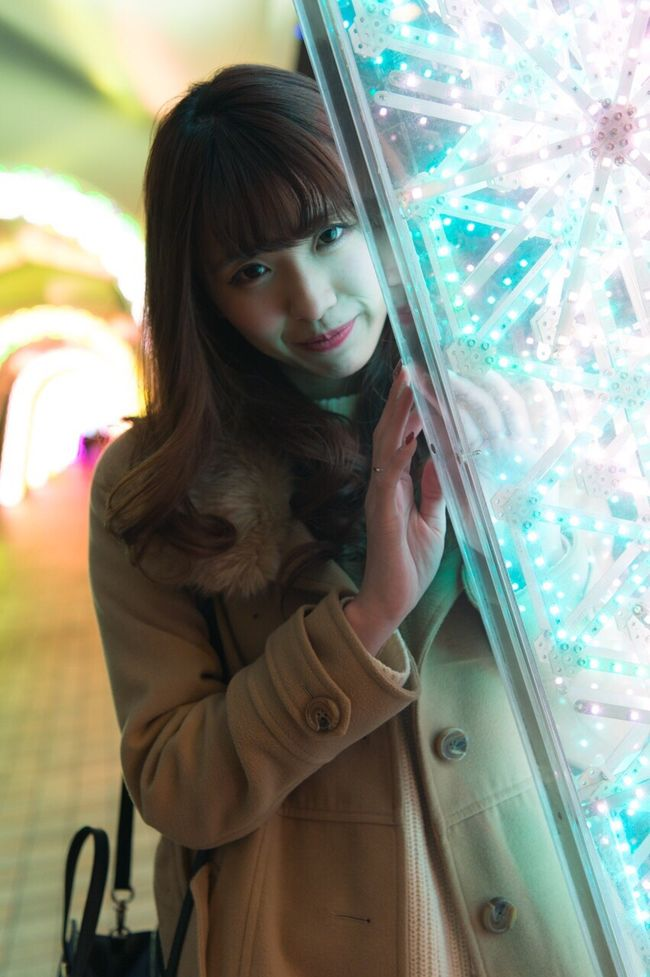 All The Neon Lights Seeing The Sights Aoi KAWAII Model Striking Fashion Portrait Girl New Year Around The World Creative Light And Shadow It's Cold Outside Freelance Life Cool Japan Japan Tokyo My Winter Favorites Nikon Ctiy One Wild Night LaQua