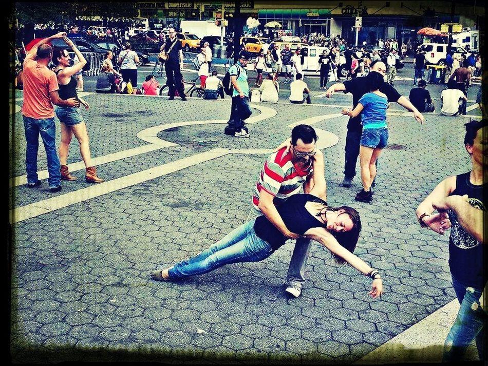 InternationalFlashmobWCS NYC Westcoastswing