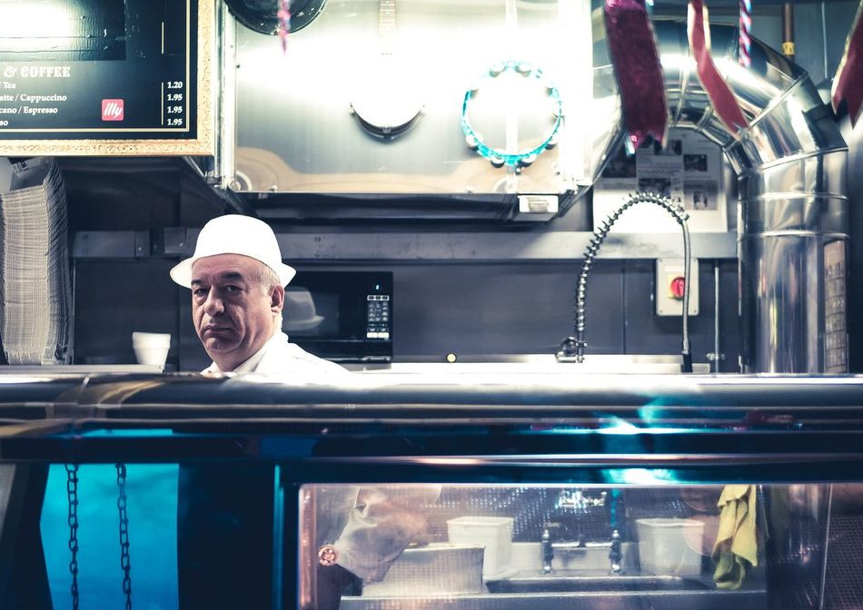 A Portion of chips please :) London Camden Town Color Londonlife Streetphotography Portrait Chip Shop Pipes Learn & Shoot: Leading Lines Layering Learn & Shoot: Layering