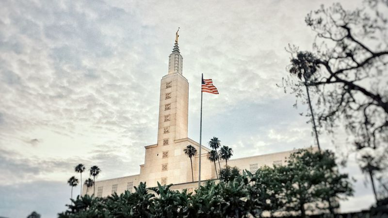 Los Angeles LDS Temple. Los Angeles, California Lds Temples Arquitecture