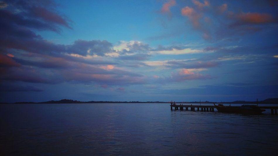 Beach Ocean View Sky And Clouds Island Kijang Kota Bintan Island