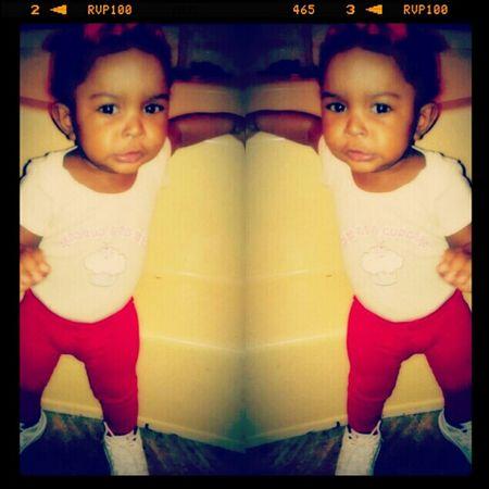 She thuggin like always <3 #myheart#badass#co'nyree