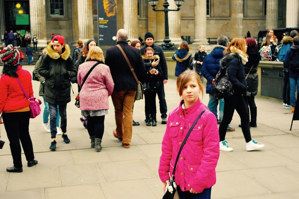 Taking in surrounding's. London Museum Day's Out