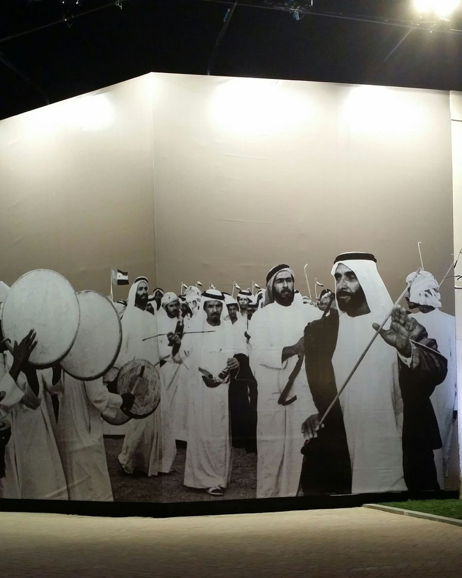 Uae,abudhabi Qasr Al Hosn Traditions Festival late Sheikh_Zayed founder of the UAE
