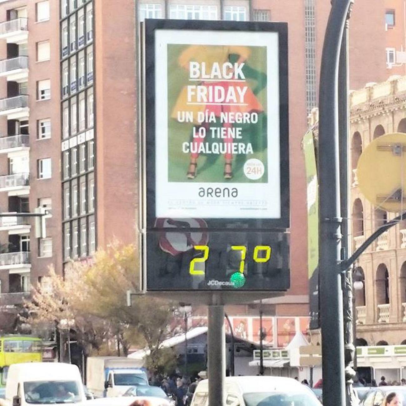 Ojo !! Temperatura actual en Valencia ... 😣😣😣😣