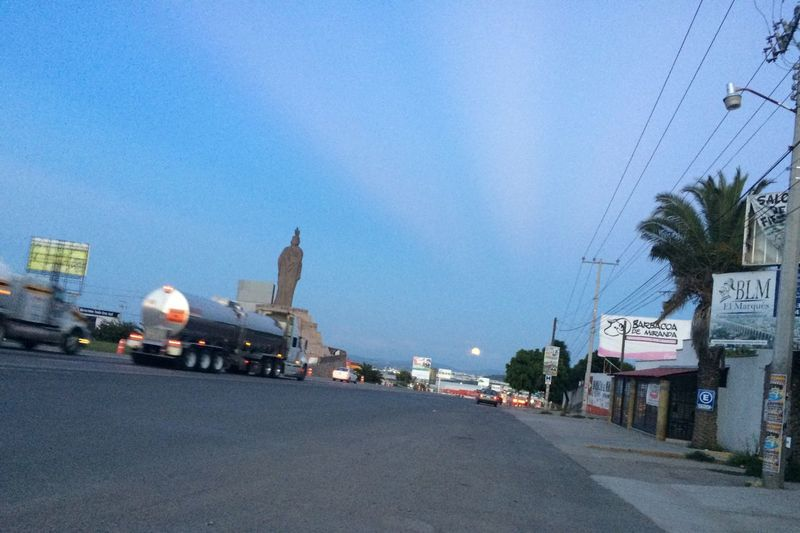 Querétaro Highway Autopista Conin Moon Luna Full Moon Moonrise Beautiful Moon  Moon Rising