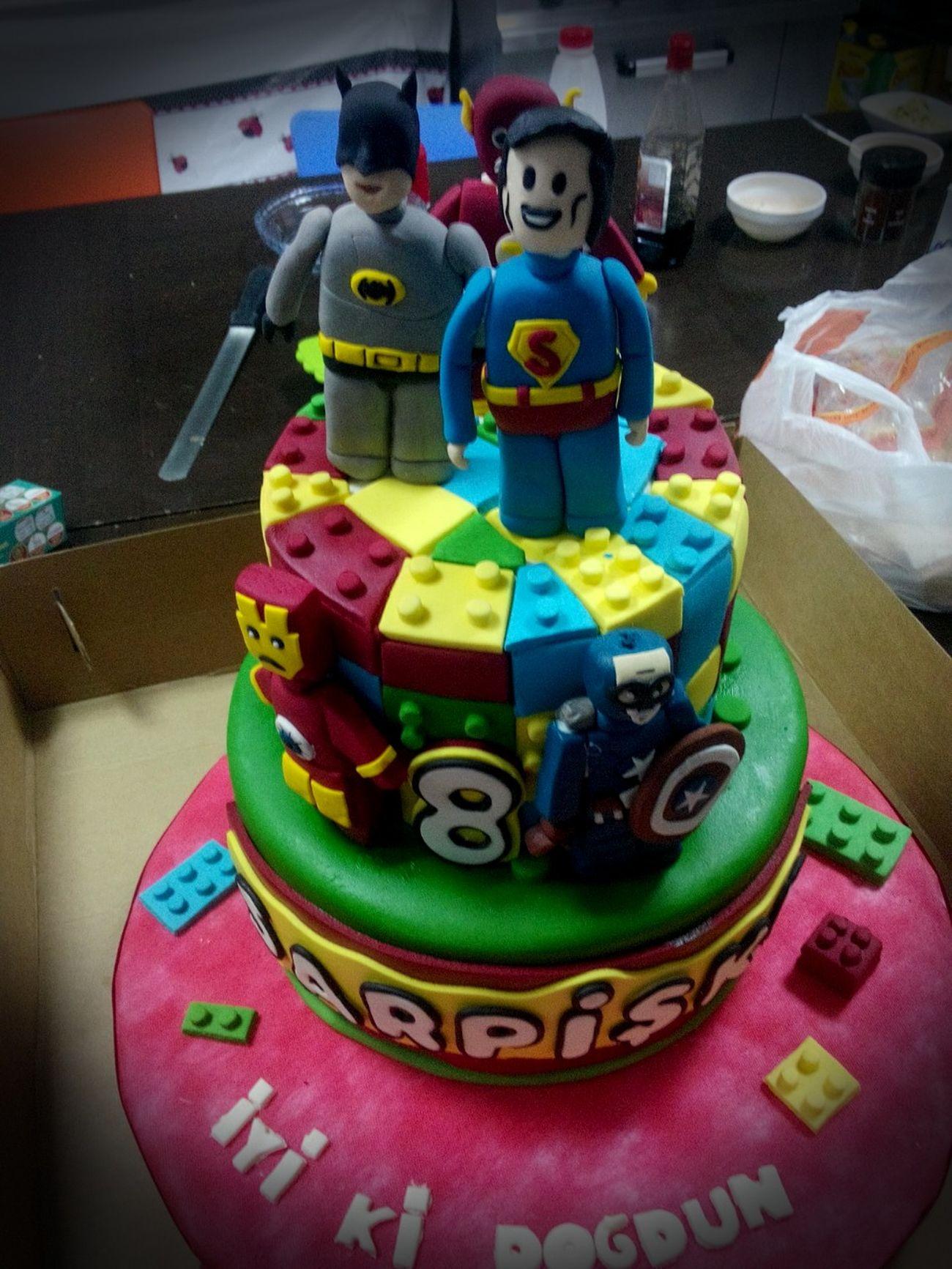 Nasıl olmuş pastam ;)