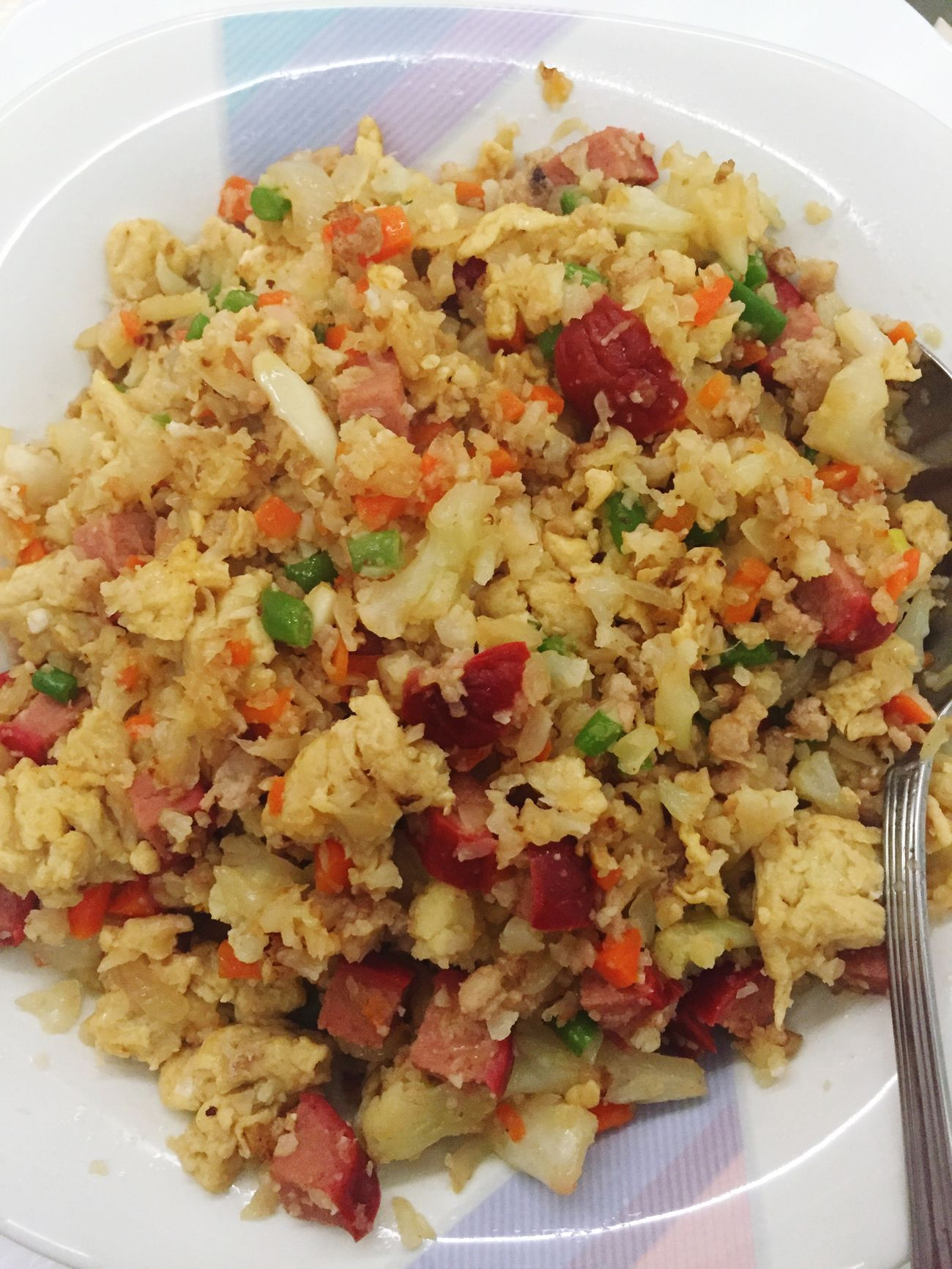 Fried rice with a twist. Broccolifriedrice