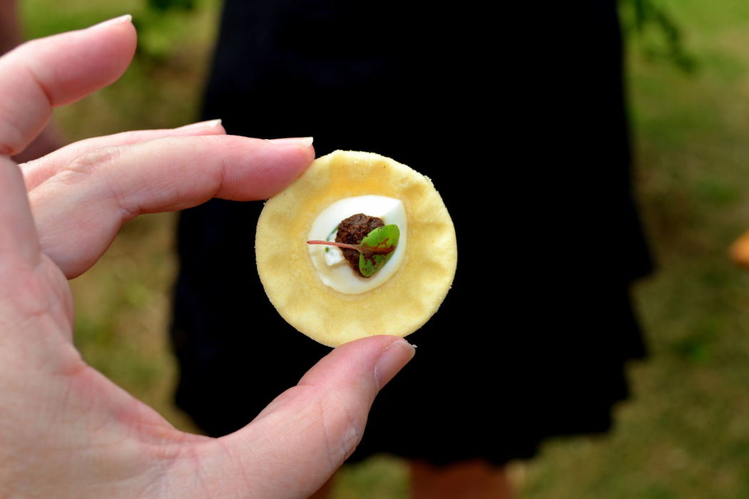 Canapé Close-up Delicious Food Food Porn Freshness Healthy Eating Human Hand Oysters Platters