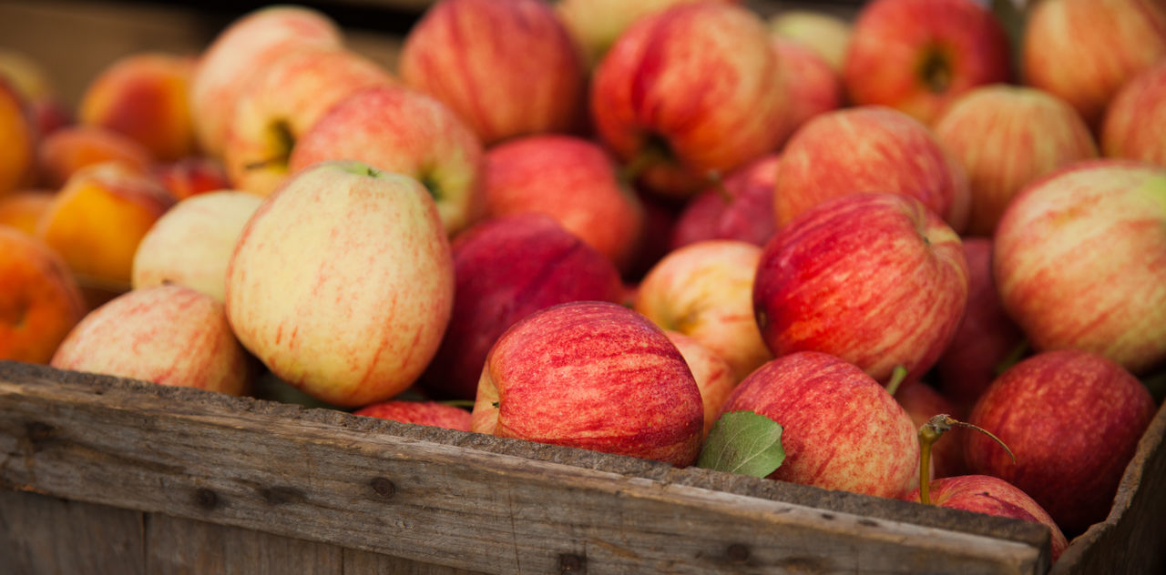 Beautiful stock photos of obst, Abundance, Apple - Fruit, Box - Container, Close-Up