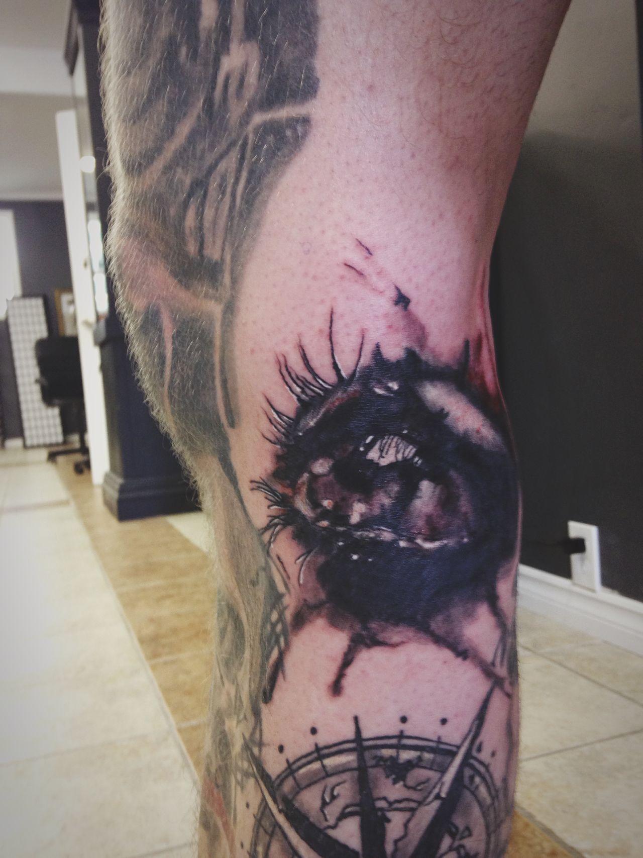 Grim City Tattoo Club Hamilton Back Of The Knee Tattoo Tattoos Tattooed