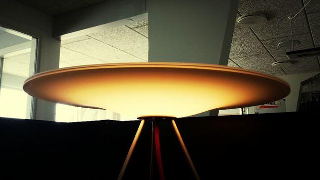 The Sinus tablelamp from Piet Hein.. a lovely sight ... Piethein Sinus