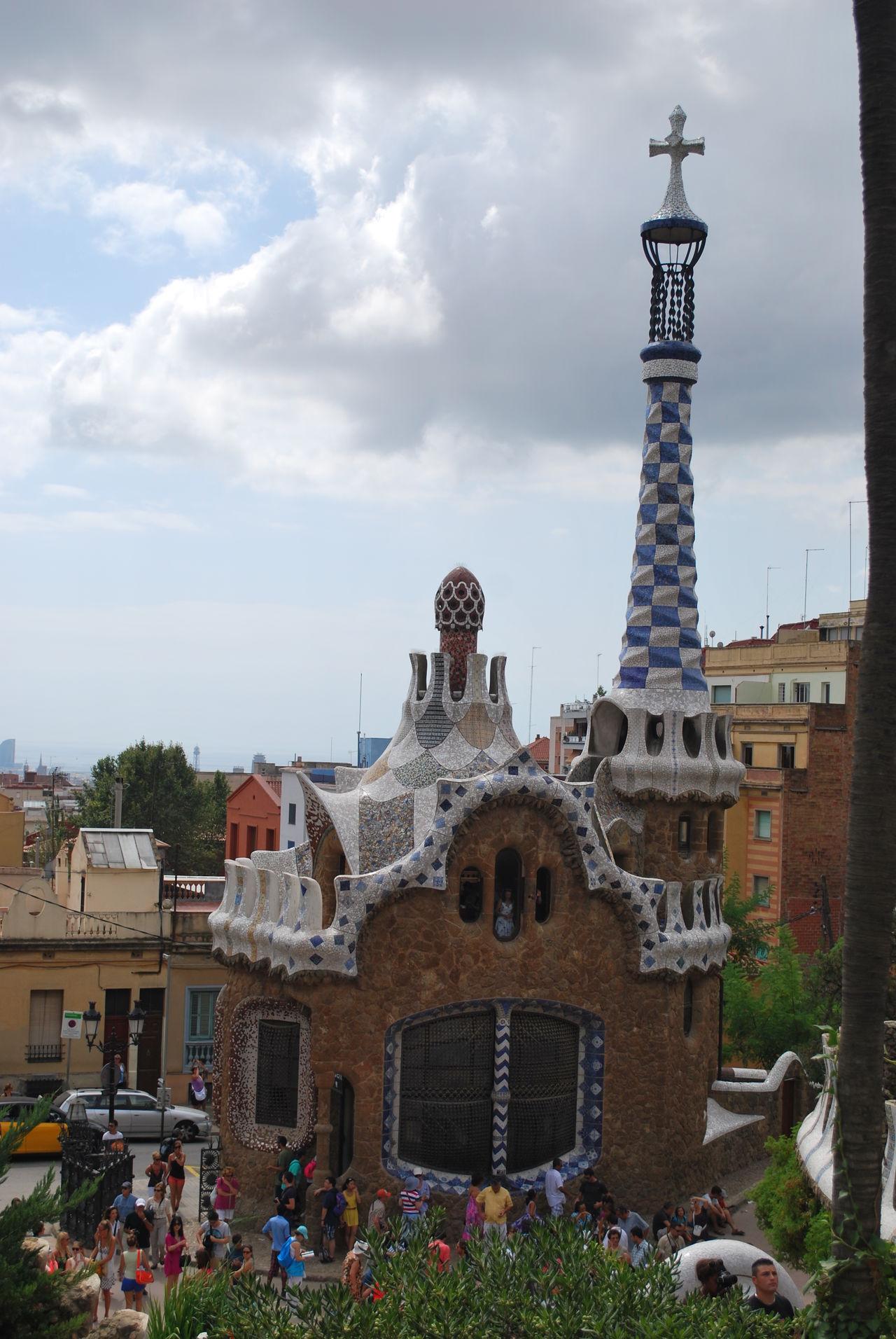 Barcelona Barcelona, Spain Building Catalonia Catalunya Gaudi Park Park Guell Park Güell, Barcelona Sky SPAIN