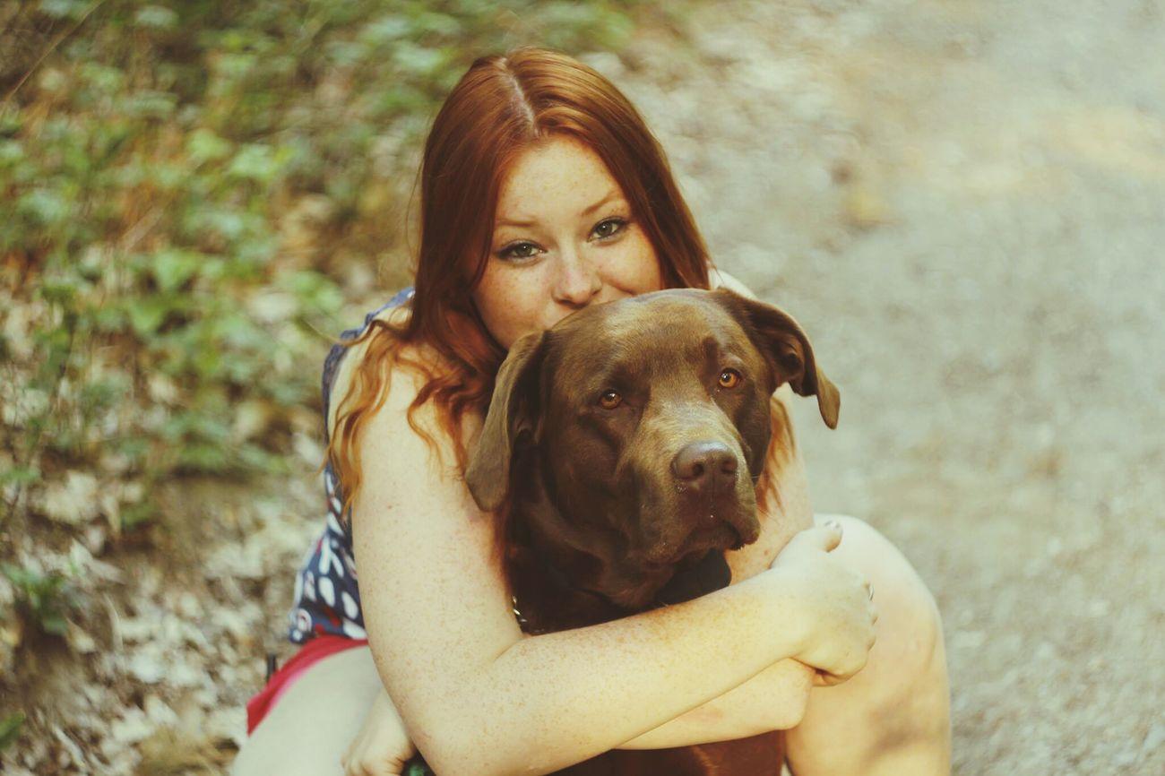 love <3 Brown Labrador  Labrador Dog Lover Natural Redhead