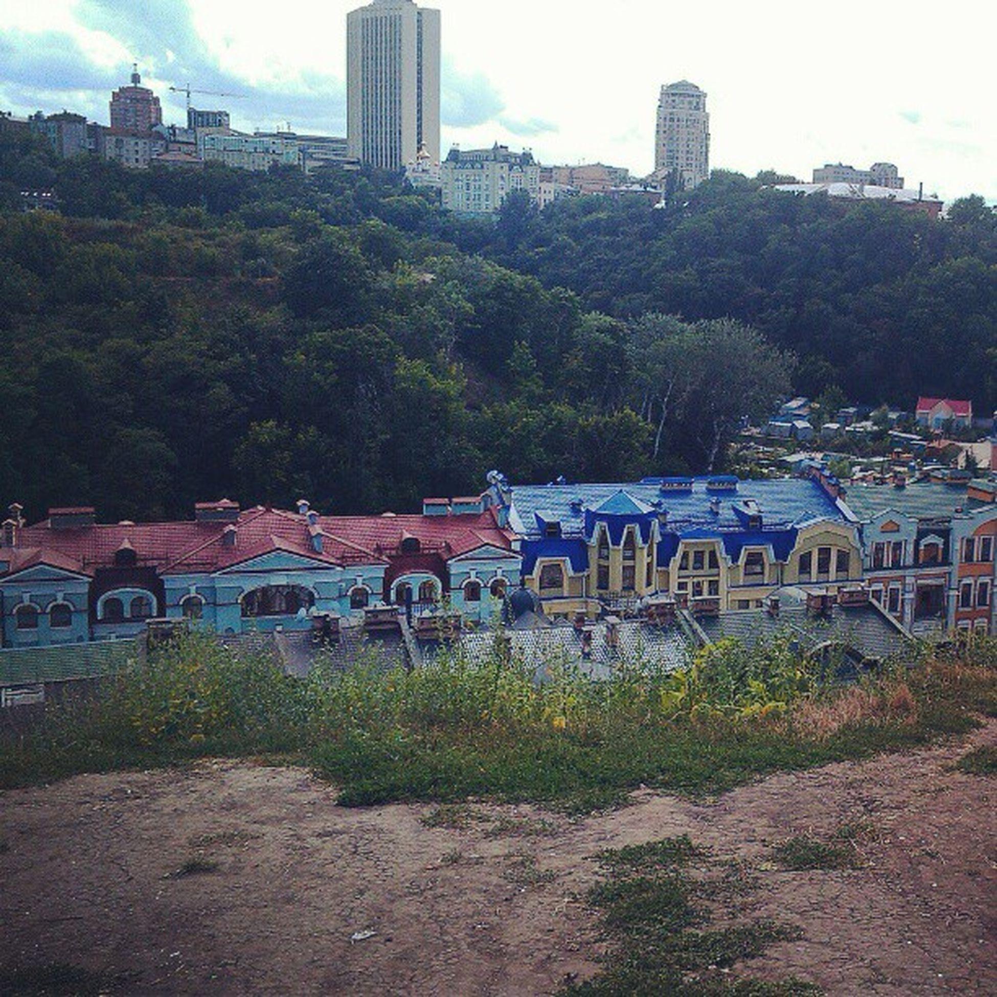 фото я Киев андреевский спуск