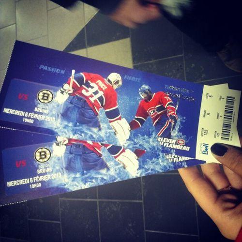 Habs RowA Seat6 BostonSucks @dylangroper