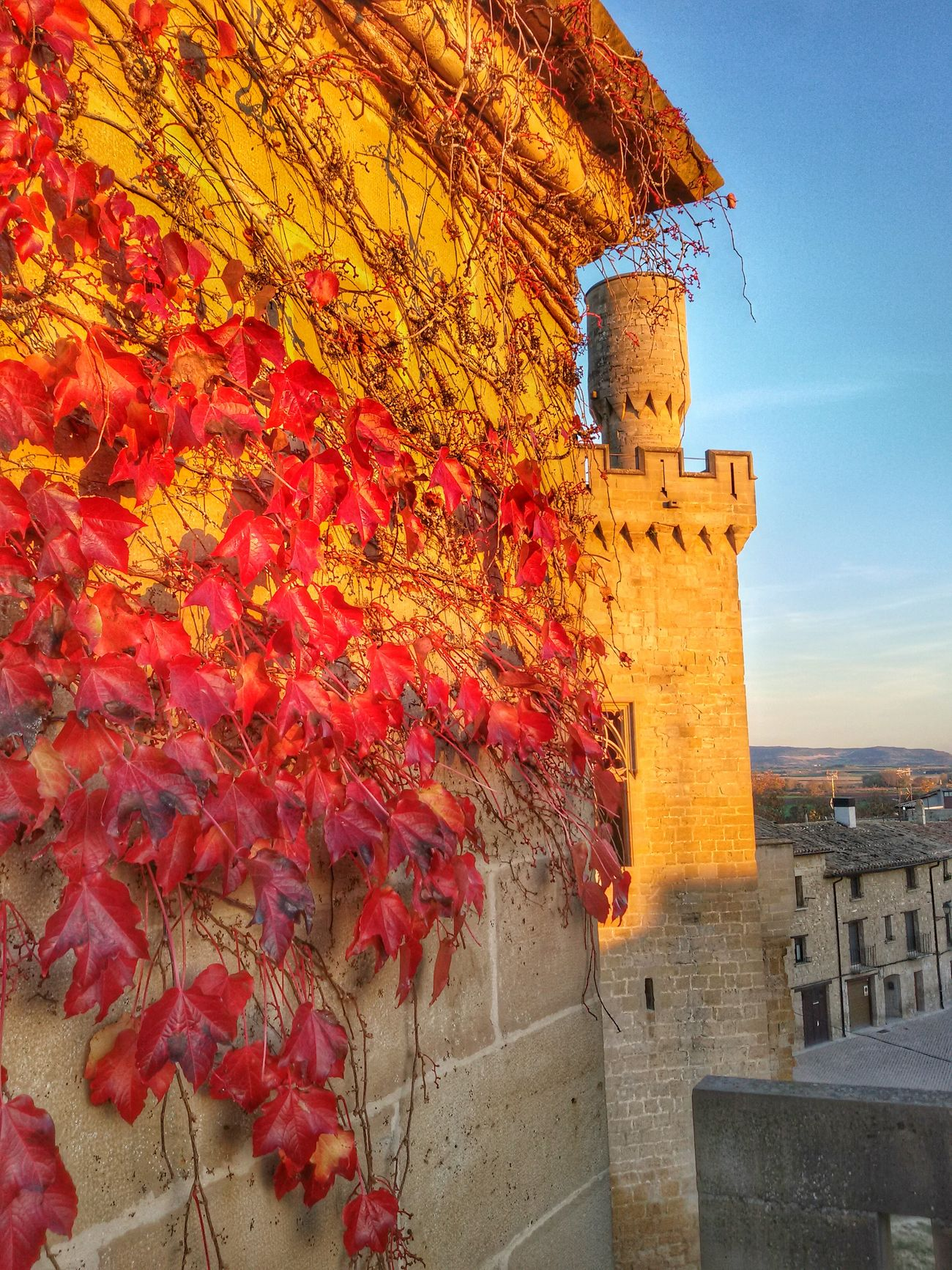 Arquitecture Interior Design Popular Photos Spain Heritage Architecture_collection Castles Navarre Traveling Sunset Silhouettes Beautiful Day
