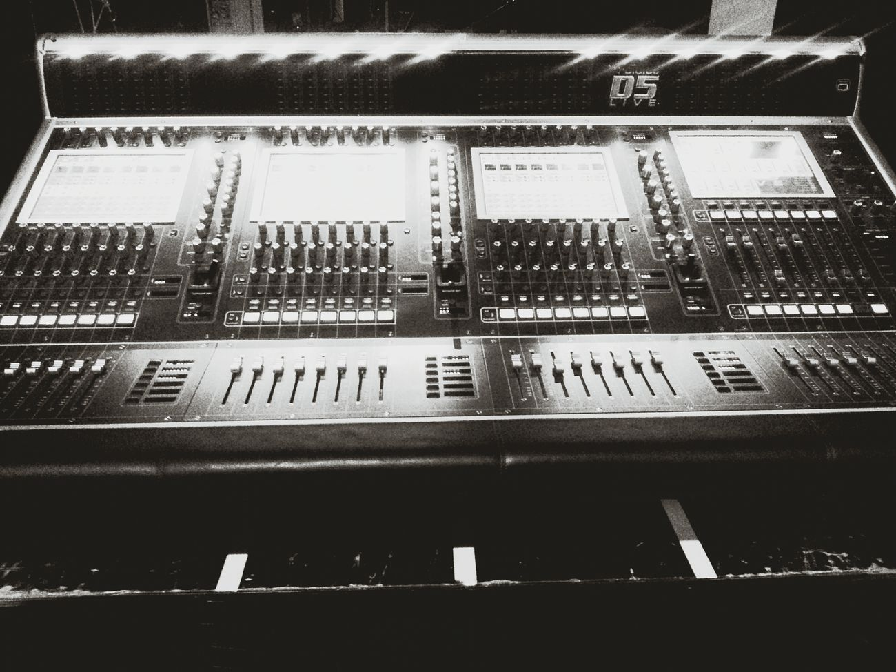 Performance Theater Mixing Sound My Desk At Work Portugal Photo Braga Music Concert Venue