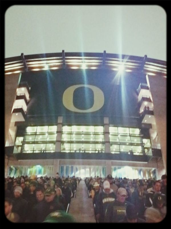 Captured With My Note 3 Oregon Ducks Autzen Stadium Sports
