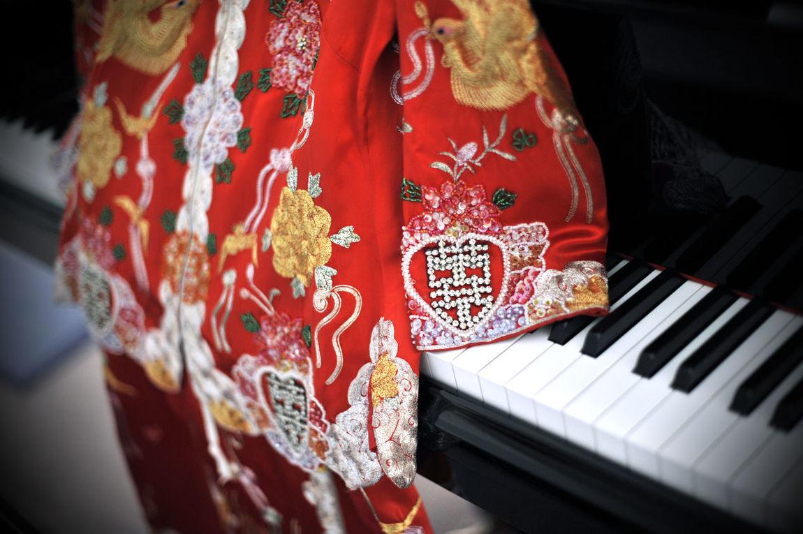 Chinese Wedding Wedding Photography Double Happiness Piano Wedding Around The World