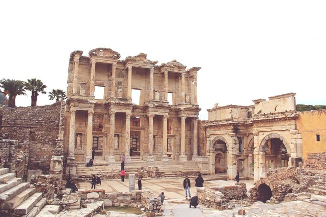 Amazing Places Beautiful Day Fantastic View Beautiful Wiew EyeEm Best Edits EyeEm Best Shots From My Point Of View Photography Taking Photos Eye4photography  Eyeem Ephesus - Turkey Ephesus Historical Place Historical Building Historical City EyeEm Historical Ancient City Ancient Culture Ancient Architecture Ancient Building Ancient Beauty Visiting Museum Visiting Library Historic Landscapes
