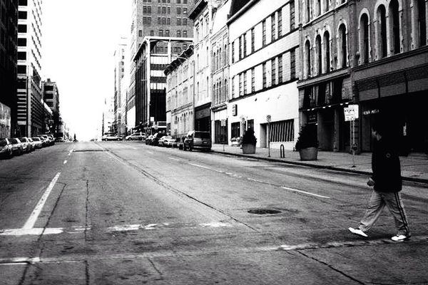 blackandwhite at Downtown Milwaukee by ryan
